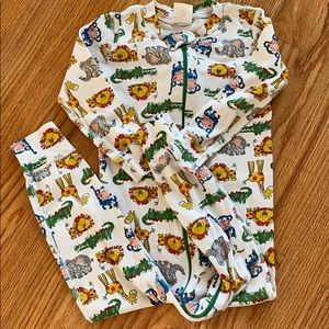 Hanna zoo animals jammies